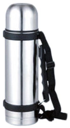 Hds Trading Vf00342 Bouteille thermos en acier inoxydable 1 l