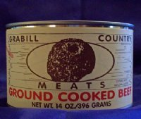 Canned Boneless Ground Beef