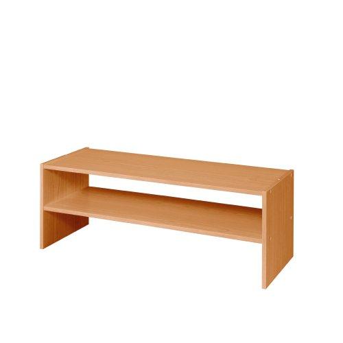 Cheap ClosetMaid 896200 31 Inch Horizontal Laminate Closet Organizer, Alder