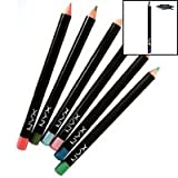 NYX Cosmetics Slim Eye Pencil Black
