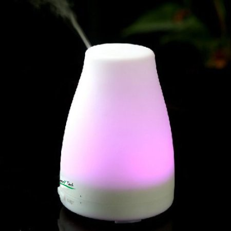 Better Tech Mini Colorful Ultrasonic Fragrance Diffuser with Air Humidifier and Aroma Purifier