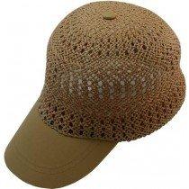 Amazon.com : Capas Headwear Baseball Cap Straw Summer Cap Camel Size