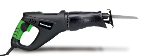 Kawasaki 841210 Black 6 Amp 4.5-Inch Reciprocating Saw