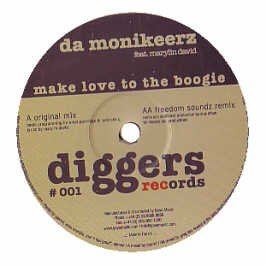 DA MONIKEERZ - Make Love To The Boogie - Maxi 45T