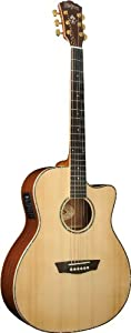 Washburn WD55 Series WG55SCE Acoustic Electric Guitar