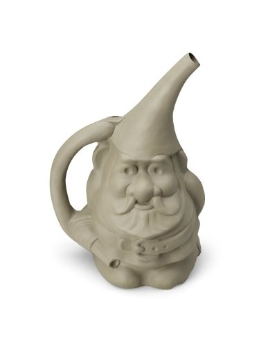 Gnome In Garden: Novelty 30906 Gnute The Gnome Watering Can 026978309068