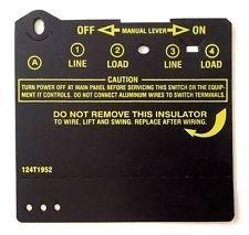 124T1952 Insulator For T100