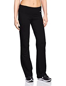 NIKE Damen Hose Legend 2.0 Regular Dri Fit, Black/White, M, 548517-010