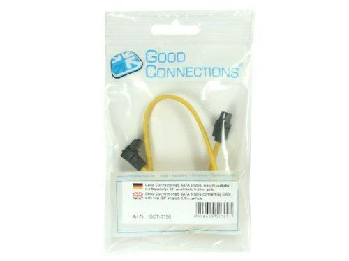Good Connections SATA 6 Gb/s Anschlusskabel mit Metallc
