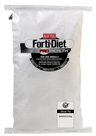 Forti-Diet Pro Health Mouse & Rat food, 25 lb bag