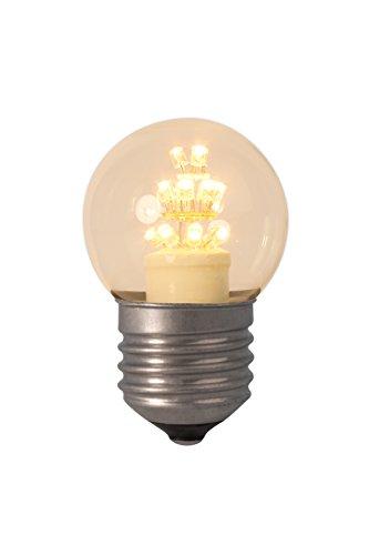 Mit Warenzeichen versehene Perl-LED Kugelleuchtmittel 240V E27 P45, 17 LEDs 2100K - KOSTENLOSE SUPER SAVER LIEFERUNG DURCH AMAZON