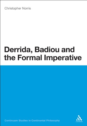 Derrida, Badiou and the Formal Imperative (Bloomsbury Studies in Continental Philosophy)