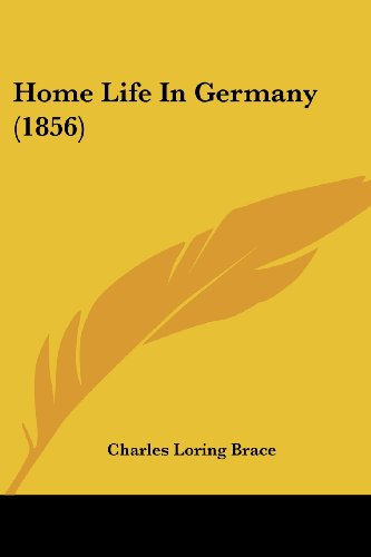 Home Life in Germany (1856)