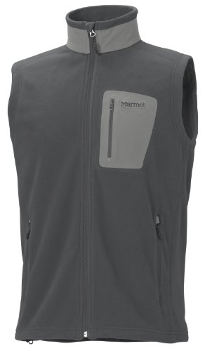 Marmot Men's Reactor Fleece Vest - Dark Granite, Large