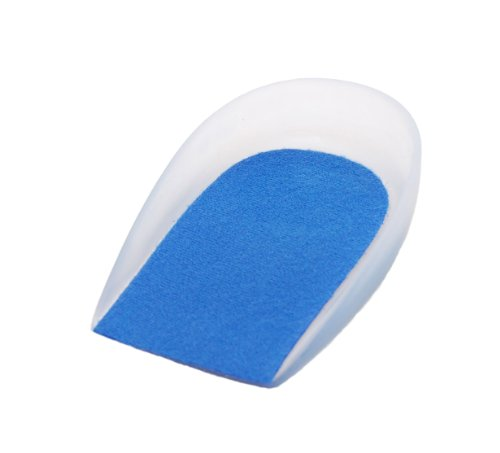 Gelex Silicone Heel Spur Cups - with Anti-microbial cover (Pair)