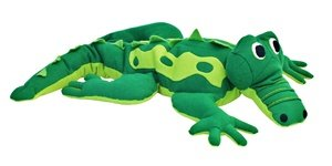 Hot PETS, Alligator. Stuffed animal. Fair Trade, Natural. Handmade by micro-sensations