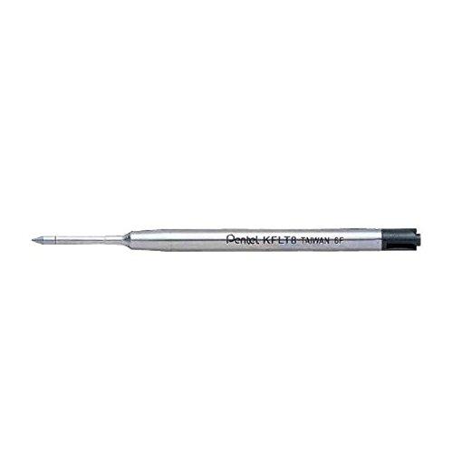 Pentel - 1x Mine pour stylo à bille KFLT8, noir