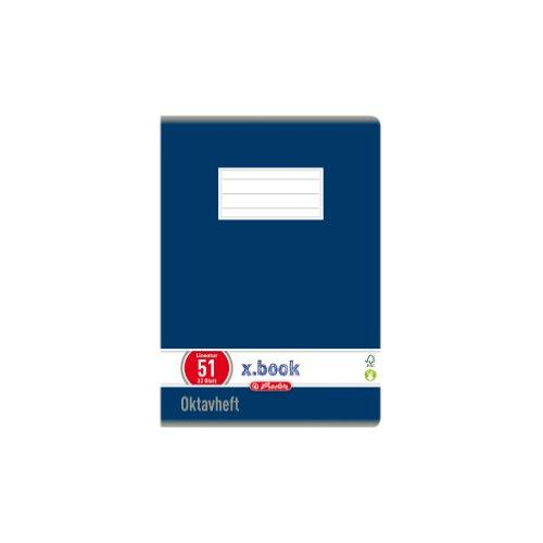 Herlitz 413617 - Lote de 10 libretas de líneas (DIN A6, 32 hojas), varios colores