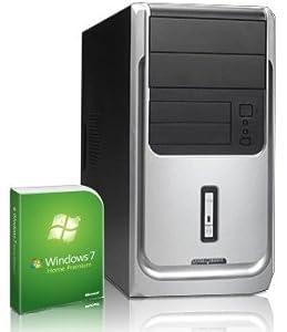 Sehr leiser PC! 2x 3400 MHz | AMD Phenom II X2 511 | 320GB S-ATA HDD | 4GB DDR3 RAM | 1024MB Radeon HD 3000 | 22x DVD-Brenner | 5.1 Sound | LAN | Windows7 Home Premium 64 | Office2010 Starter mit Word+Excel | Avira AntiVirus 2013 | #4436