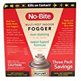 No-Bite Fogger Saving Flea and Tick Control - 3 Pack