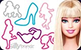 Silly Bandz Barbie 24pk with Necklace to Wear the Bands