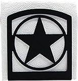 Village Wrought Iron NH-144 Western Star Napkin Holder