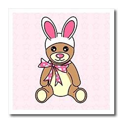 Easter Cute Easter Teddy Bear  Bunny Ears - 10x10