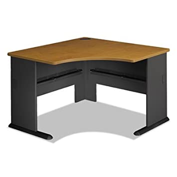 Series A Collection 48W Corner Desk, Natural Cherry, Sold as 1 Each