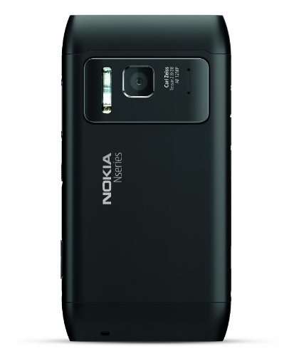 Nokia N8 Unlocked GSM Touchscreen Phone Featuring GPS with Voice Navigation and 12 MP Camera–U.S. Version with Warranty (Gray)