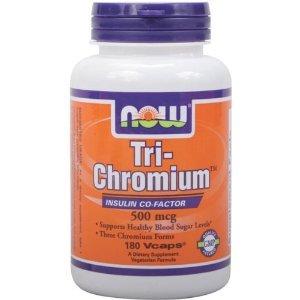 Now Foods Tri-Chromium 500 mcg à la cannelle -