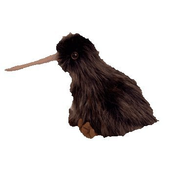 Ty Beanie Buddies - Beak the Kiwi Bird - 1