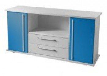 Hammerbacher aparador Sbts gris/azul