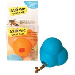 Atomic Treat Ball 2'' Dog Toy