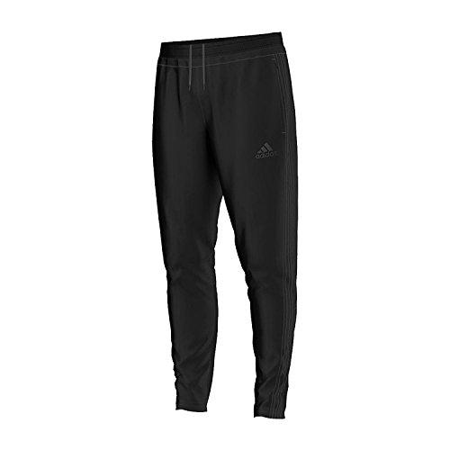 Calcio Pantaloni Tuta Da Allenamento Da Uomo Adidas Tiro 15, Uomo, Tiro 15, Black / Black, S