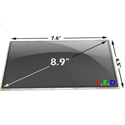 "Gateway Lt1008U Laptop Lcd Screen 8.9"" Wsvga Led ( Compatible Replacement )"