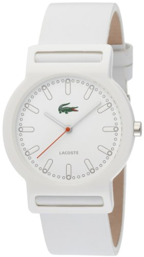Lacoste White Leather Band Ladies Watch – 2010484