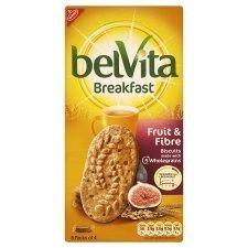 Belvita Fruit And Fibre 300 Gram - Pack of 6