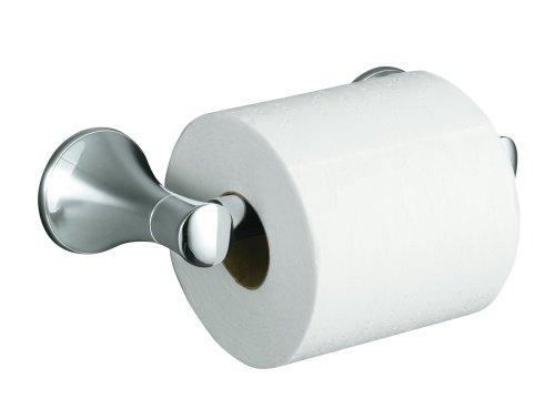 KOHLER K-13434-CP Coralais Toilet Tissue Holder, Polished Chrome