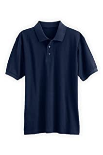 Fair Indigo Men's Short Sleeve Fair Trade Organic Polo