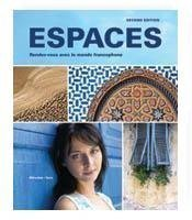Espaces, 2nd Ed, Student Edition w/ Supersite PLUS Code...