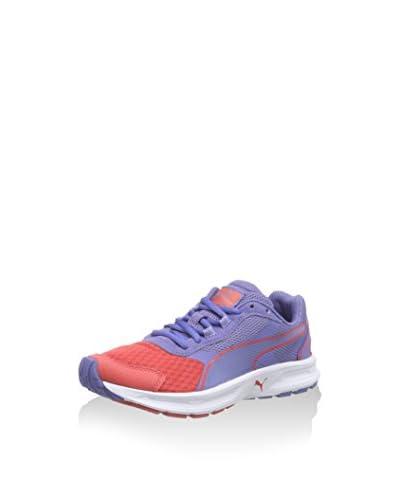 Puma Descendant v3 Jr, Low-Top Sneaker Unisex - bambino, multicolore (cayenne-bleached denim-cayenne...