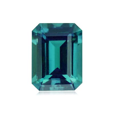 1.86 Cts of 8x6 mm AAA Emerald-Cut Russian Created