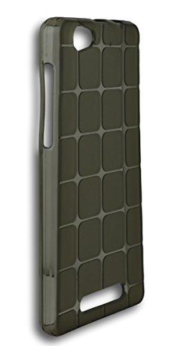 BlueArmor Soft Matte Silicone Back Cover Case For Xolo Era 4g - Grey