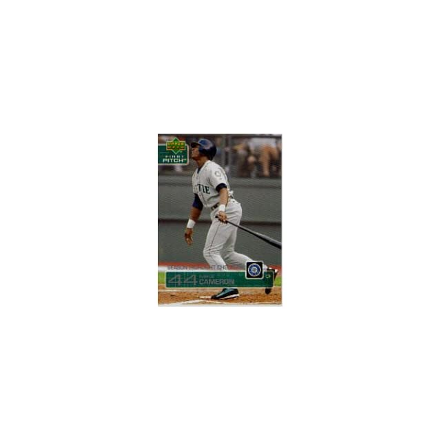 2003 Upper Deck First Pitch #264 Mike Cameron SH CL