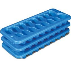 Bargain Sterilite® 3 - Blue Sky Stacking/Nesting Ice Cube Trays deliver
