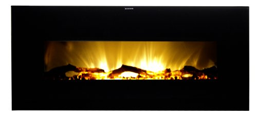 Frigidaire VWWF-10306 Valencia Widescreen Wall Hanging Electric Fireplace with Remote Control - Black image B008KY0M9M.jpg