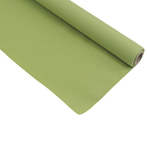 Duni Tischdeckenrolle Tischdecke 1,25 x 5m Fest Tisch versch. Farben Dunicel, Farbe:Avocado