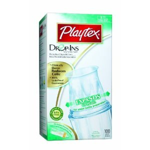 Playtex Drop-Ins Pre-Formed Soft Bottle Liners (6 Pack) front-1078335