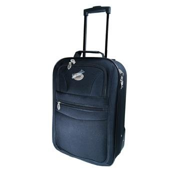 "20"" Small Navy Jazzi High Quality Hand Luggage Cabin Approved Bag Travel Holiday Weekend Overnight Suit Case by Jazzi"