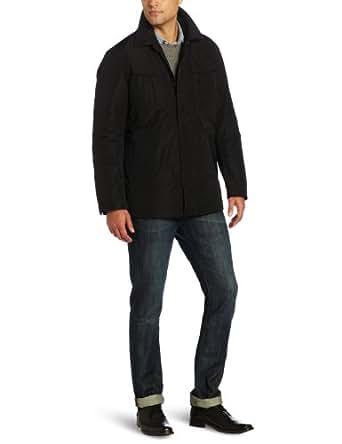 Victorinox Men's Rowland Fleece Lined Jacket, Black, Small